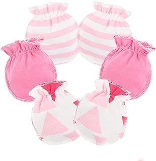 Unisex Niedliche Baby Lammfell-F/äustlinge von CHRIST f/ür Jungen, M/ädchen, Kleinkind, Kinder bis 18 Monate mit Verbindungs-Band warme Winter-Handschuhe in beige mit rosa Garn
