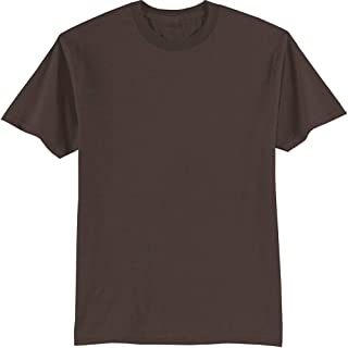 Tall 50/50 Cotton/Poly T-Shirts in 25 Colors. Sizes LT-4XLT