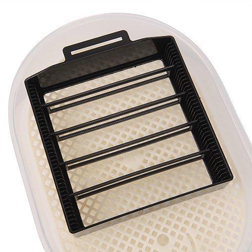 amzdeal® Inkubator Brutkasten Brutmaschine Brutapparat Incubator Flächenbrüter Geflügel - 3