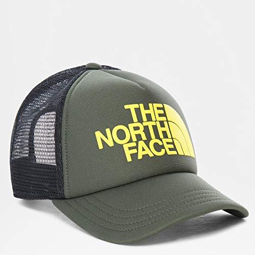 The NORTH FACE Cappello Bimbo Trucker Youth Verde e Giallo PE20