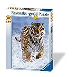 Ravensburger - Tigre en la Nieve, Puzzle de 500 Piezas (14475 4)