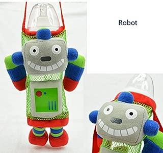 Baby Kids Kettle Bag Cute Animal Figure Feeding Bottle Drink Bottle Bag (Robot)