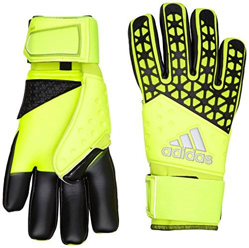 adidas Unisex Torwarthandschuhe Ace Zones Pro, Solar Yellow/Semi Solar Yellow/Black, 11, S90125
