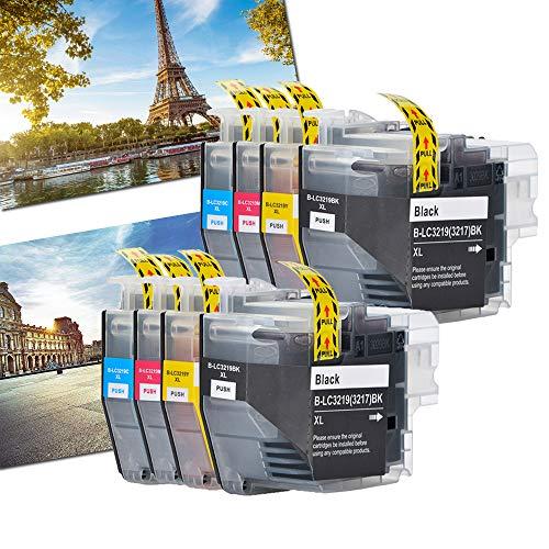 Karl Aiken - Cartuchos de tinta compatibles con Brother LC3219XL LC3219 XL LC3219 Brother MFC-J5330DW MFC-J5335DW MFC-J5730DW MFC-J5930DW MFC-J6530DW MFC-J6930DW MFC-J6935DW