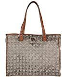 Tommy Hilfiger Executive Tote Tan/Dark Chocolate One Size