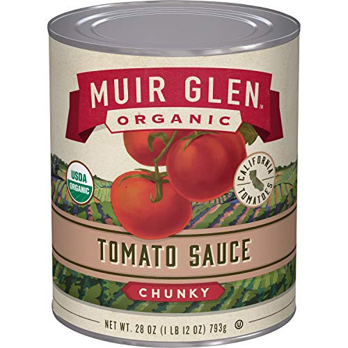 Muir Glen, Organic Chunky Tomato Sauce, 28 oz