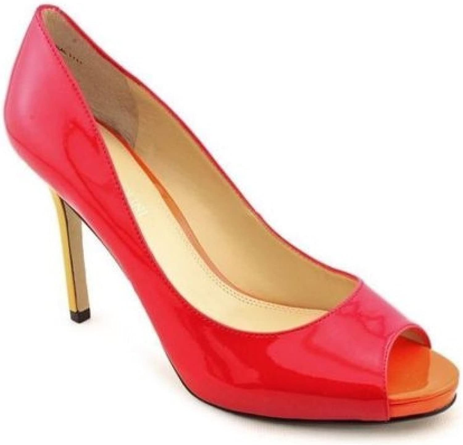 Enzo Angiolini Women's Maiven Pumps in Red Size 5.5