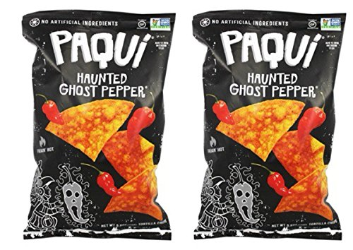 Paqui Tortilla Chips, Haunted Ghost Pepper, 5.5 Ounce (haunted Ghost Pepper, 2 Pack)
