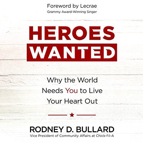 Heroes Wanted audiobook cover art
