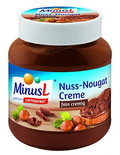 MinusL Nuss-Nougat Creme 400g