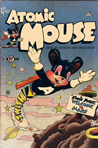Atomic Mouse - Issues #1 & #2 (Golden Age Rare Vintage Comics Collection (With Zooming Panels)) (English Edition)