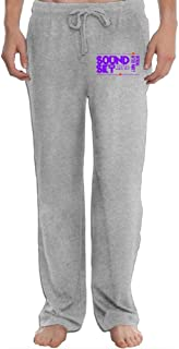 Soundset 2016 Music Festival After Party Men's Sweatpants Lightweight Jog Sports Casual Trousers Running Training Pants