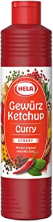 Ketchup Curry Especiado Hela picante 800ml