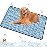 Spessn Alfombrilla de orina para mascotas, alfombrilla de refrigeración para mascotas, alfombrilla de refrigeración...