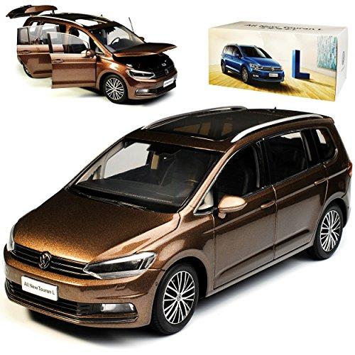 Paudi Volkwagen Touran II Braun Metallic 2. Generation Ab 2015 1/18 Modell Auto