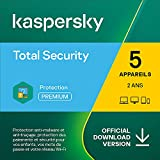 Kaspersky Total Security 2021 | 5 Appareils | 2 Ans | Windows/Mac/Android | Code d'activation – Envoi par Email