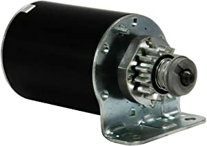 Starter Motor Replacement for Cub Cadet 1999-2006 John Deere 1998-2010 Sabo 2002-2011 Scotts 2000-2005 Toro 1999-2010, 693551 LG693551