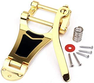 Jazz Guitar B7 Tremolo Vibrato Bridge Tailpiece for Gibson Bigsby ES355 Epiphone, Designed for Use On Arch Top Electric Guitars