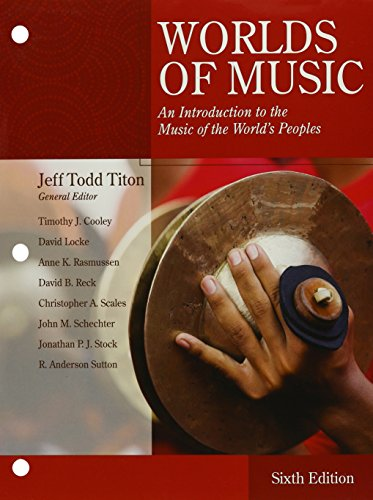 Bundle: World of Music: An Introduction to the Music of the World's Peoples, Loose-Leaf Version, 6th + MindTap Music, 1