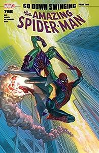 Amazing Spider-Man (2015-2018) 798話 表紙画像