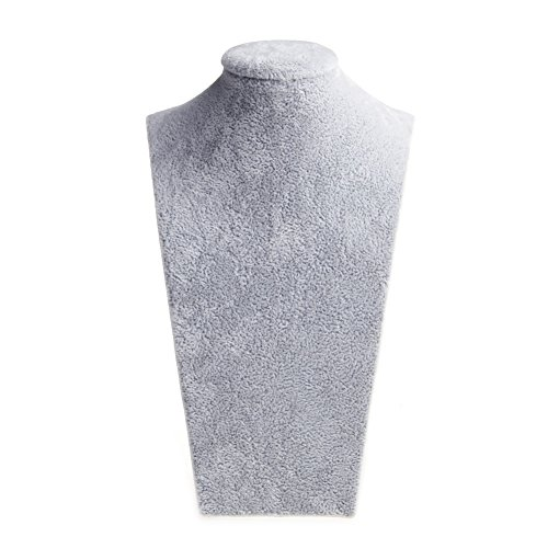 HUIJUAN Velvet Model Busto Collar Colgante Cuello Modelo Display Stand