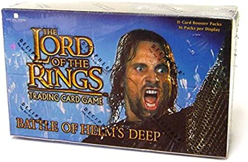 Lord of the Rings Trading Card Game Battle of Helm's Deep Booster 36 (englisch) Stück