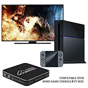 GooBang Doo 2018 Newest HDVCB1 Mini 1080p HD Video Capture Box, PVR, DVR to USB flash drive. Record Xbox,PS4,Nintendo Switch Gameplay,Live TV,FPV drone,TV Box and more.Supports Microphone Audio Input