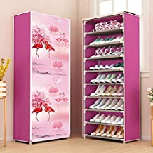 ELECTROPRIME Simple Shoe Rack Household Multi-Layer Economical Dormitory Cabinet Dust Proof Storage Small