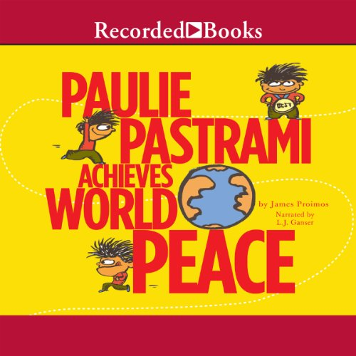 Paulie Pastrami Achieves World Peace audiobook cover art