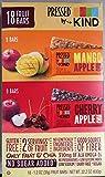 KIND Pressed by Bars - Mango Apple Chia + Cherry Apple Chia, 1.2 Oz, 18 Ct