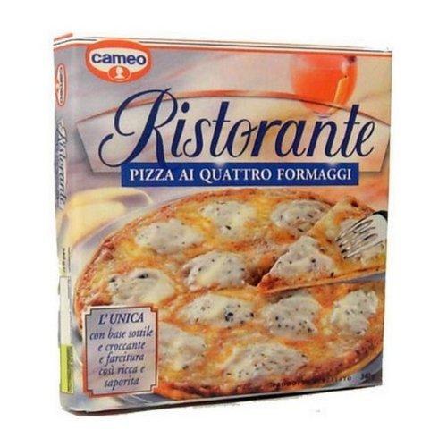CALAMITA FRIGO MAGNETE MINIATURA CAMEO PIZZA 4 FORMAGGI ORIGINALE COLLEZIONE