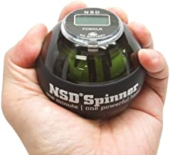 NSD Power AutoStart Spinner Gyroscopic Wrist and Forearm Exerciser with Auto Start Feature