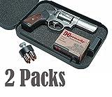 E-ONSALE AmeriGun Club Full Size Handgun Safe Vault Security Pistol Case Key Lock Box (2 Packs)