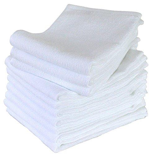 泉州タオル フェイスタオル 業務用 260匁 10枚セット 白 ホワイト 速乾 日本製