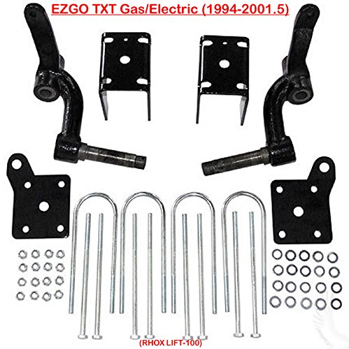 EZGO TXT 6''Rhox' Spindle Lift Kit Gas $ Electric 1994-2001.5 Golf Cart