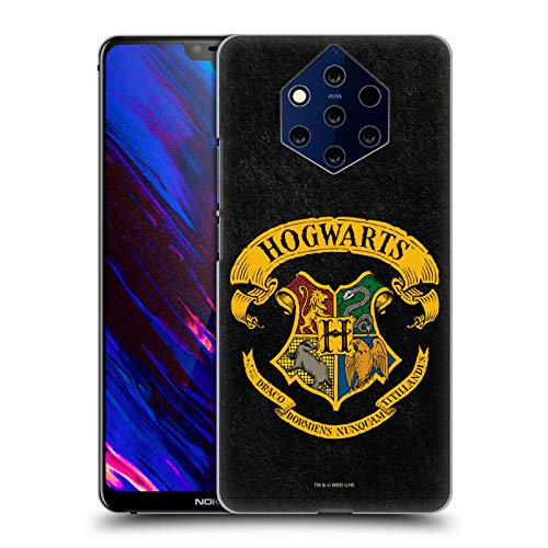 Head Case Designs Ufficiale Harry Potter Cresta Hogwarts Sorcerer's Stone I Cover Dura per Parte Posteriore Compatibile con Nokia 9 PureView