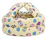 Bellady Infant, Toddler & Baby Child Helmet Cushion Bonnet,Yellow