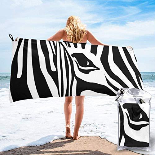 Beach Towels Toalla ligera de secado rápido Blue Sailfish Toalla súper absorbente sin arena para viajes, natación, gimnasio, yoga 140X70CM
