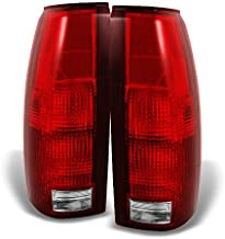 For C/K C10 Series Blazer Sierra Suburban Pickup Truck Red Clear Rear Tail Light Brake Lamps Replacement
