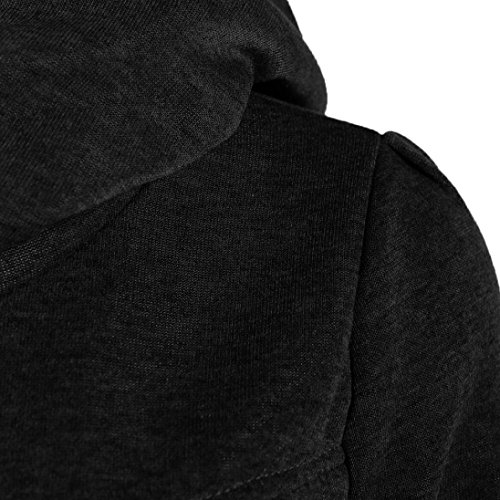 Women Sweater,Neartime Loose Pullover Long Sleeve Outfit Warm Sweatshirt (L, Black) Photo #3