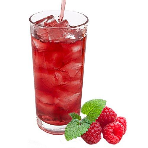 Himbeer Geschmack extrem ergiebiges Getränkepulver für Isotonisches Sportgetränk Energy-Drink ISO-Drink Elektrolytgetränk Wellnessdrink