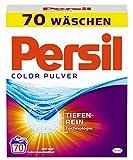 Persil Color Pulver, Colorwaschmittel, 70 Waschladungen, kraftvolle Fleckenentfernung für hygienisch reine Wäsche