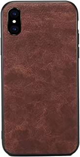 ANERNAI Compatible Apple iPhone Xs Max XS Plus Case, Ultra Thin Shockproof Premium Leather PU Anti-Scratch Cover Shell