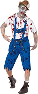 Fashion-Cos1 Men's Horrible Masquerade Bloody Doctor Cosplay Zombie Blood Nurse Dress Trick Costume Clothing for Event (Size : XL)