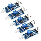 sourcing map Photosensible Diode Capteur Lumière Détection Photodiode Module pour...