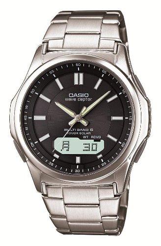 [カシオ] 腕時計 ウェーブセプター 電波ソーラー WVA-M630D-1AJF シルバー