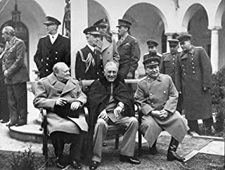 Photo Churchill Roosevelt Stalin at Yalta