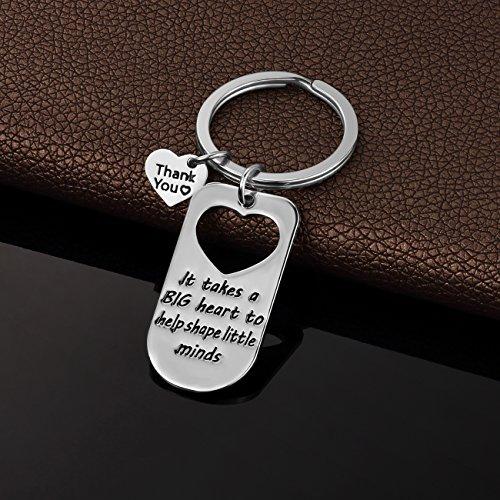 Teacher Appreciation Gift for Women - Teacher Keychain Teacher Jewelry Teacher Gifts,Thank You Gifts for Teacher, Christmas Gifts for Teacher Valentine's Day Gift Photo #7