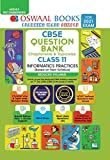 Oswaal CBSE Question Bank Class 11 Informatics Practices (Reduced Syllabus) (For 2021 Exam)