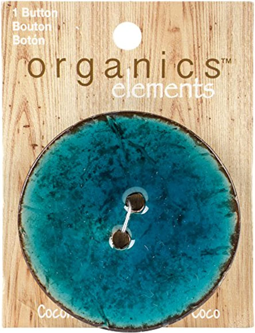 Blumenthal Lansing 4700OE-1605 Blumenthal Organic Elements-Coconut Buttons 2-1/2
